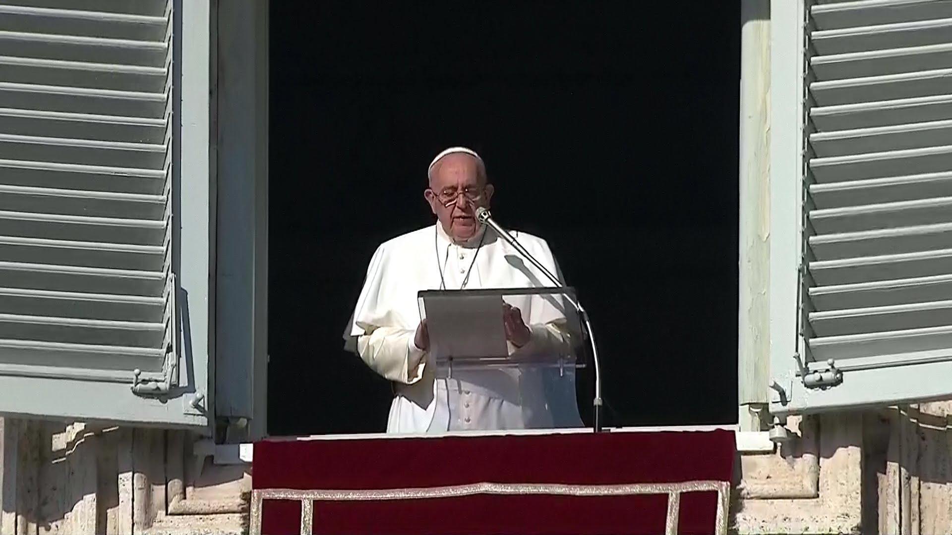 Francisco: Las buenas obras que hacemos al prójimo fortalecen nuestra fe